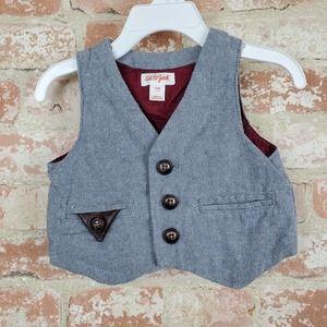 Cat & Jack Button Up Vest